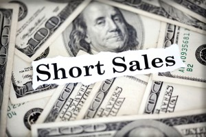 """short sales"" on top of currency"