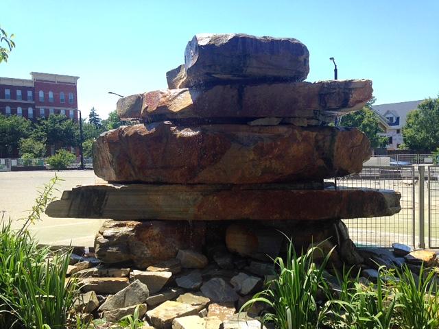 Rocks at James Hunter Park