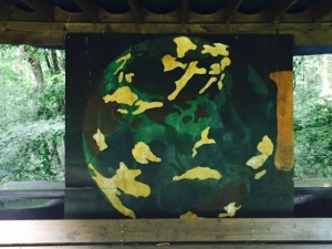 World Mural on Display at Potomac Overlook Regional Park in Arlington, Va.