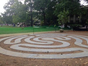 A new art installation at American University in NW, Washington, DC.