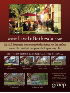 bethesda homes sold